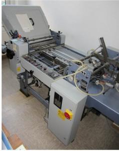 Stahl Falzmaschine